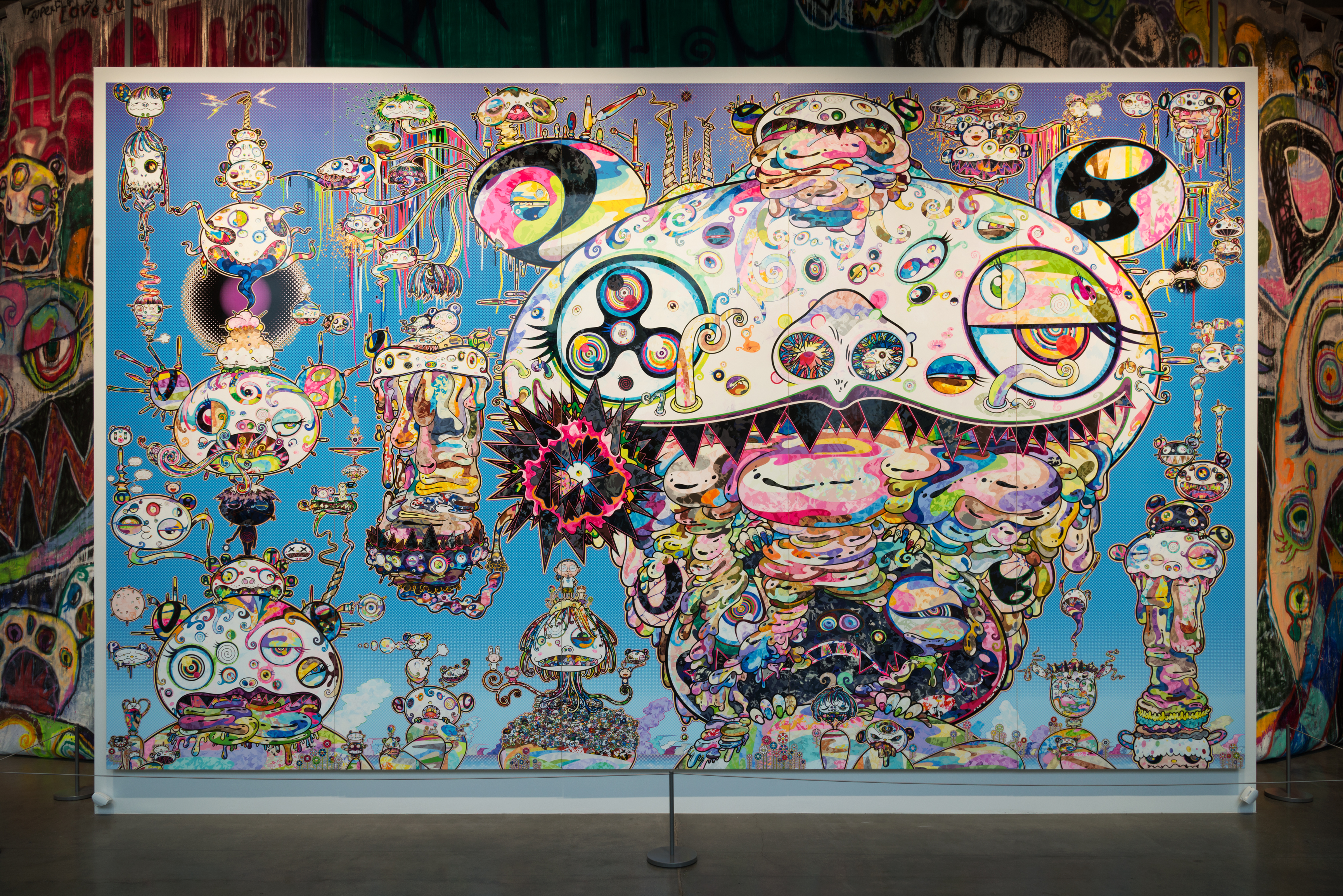 art market analysis and takashi murakami s exhibition at moscow s